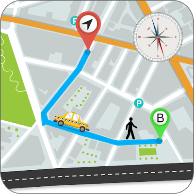 GPS Route Finder - Nearby