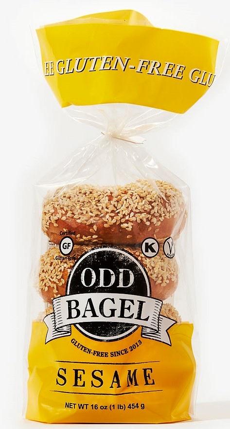 Sesame Bagel, Gluten Free And Vegan