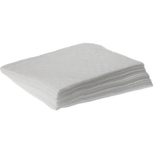 Buzzy's Absorbent Pads White Oil-only High-loft Bag/25