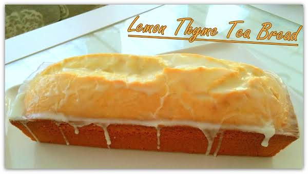 Lemon Thyme Tea Bread Recipe