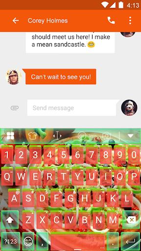 玩免費遊戲APP|下載Pie Keyboard -Emoji & Gif app不用錢|硬是要APP