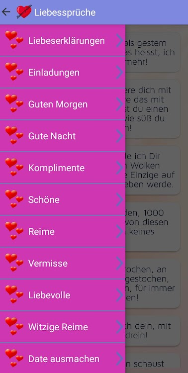 Liebessprüche Liebe Sms Android تطبيقات Appagg