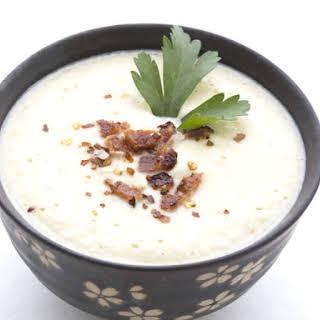 Asiago Bisque Soup.