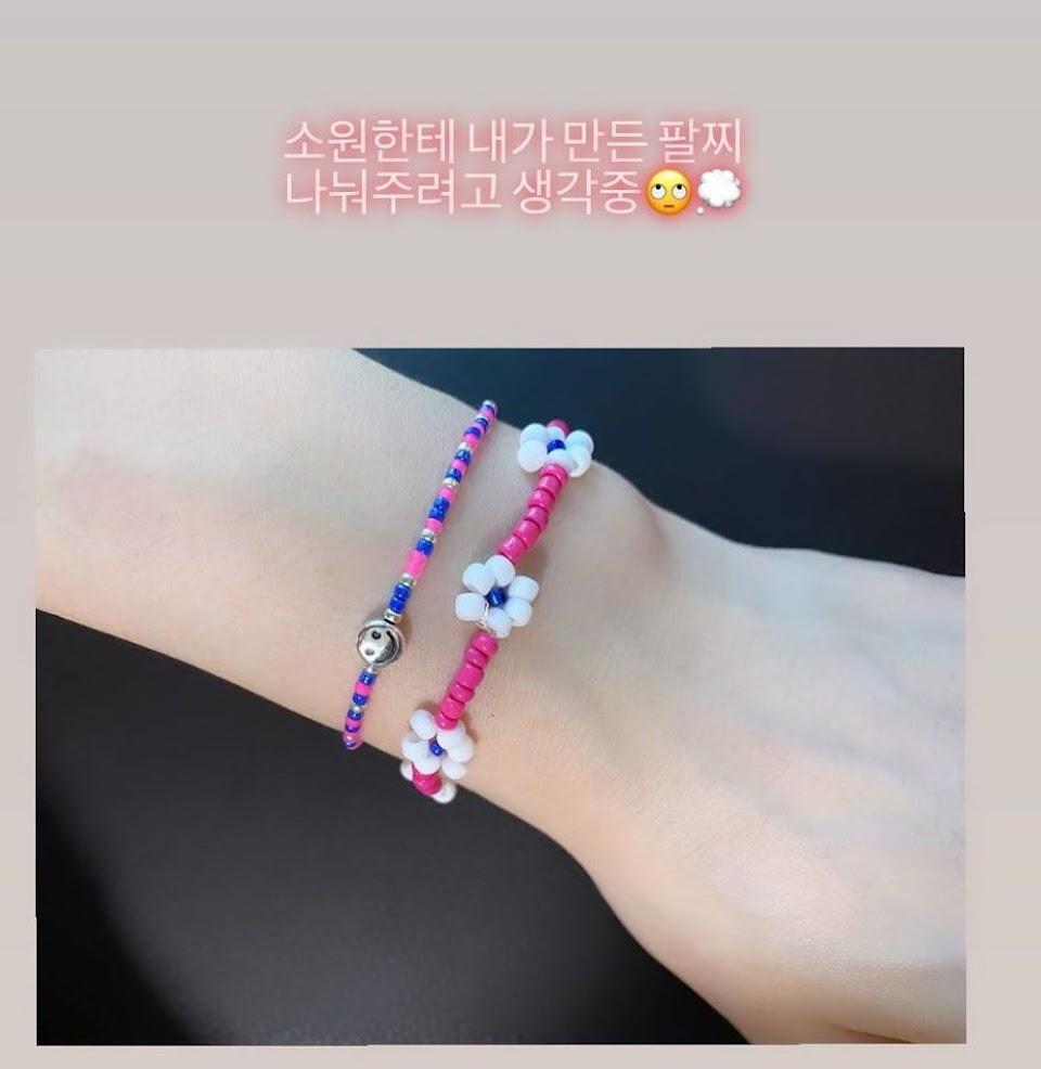 taeyeon fan bracelets