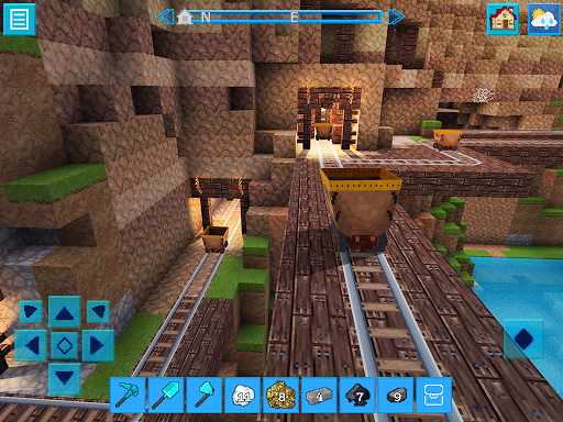 EarthCraft 3D: Block Craft & World Exploration 3.9.2 APK MOD screenshots 2