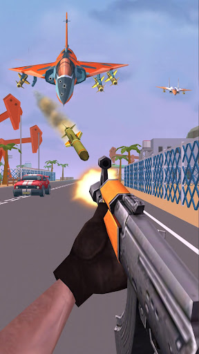 Shooting Escape Road - Gun Games  captures d'écran 1
