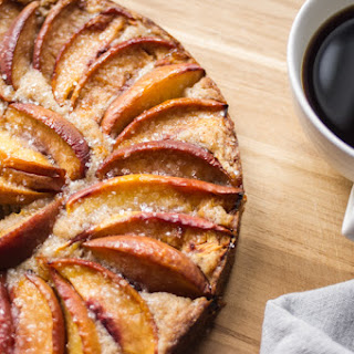 Nectarine Brown Sugar Cake