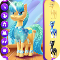 Magical Unicorn Candy World icon
