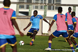 Photo: [Training camp ahead of Rwanda Vs Libya World Cup 2018 Qualifier, 12 Nov 2015 in Sousse, Tunisia.  Photo © Darren McKinstry 2015]
