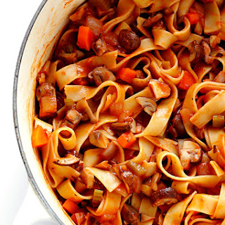 Pasta With Mushroom Bolognese Recipes
