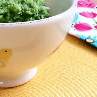 Garlicky Mashed Cauliflower & Broccoli.