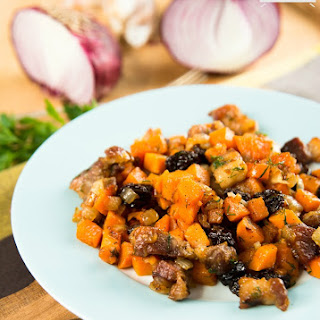 Crunchy Sweet Potato Hash