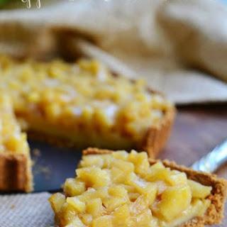 Apple Pie Custard Tart   Pies VS. Tarts Food Fight.