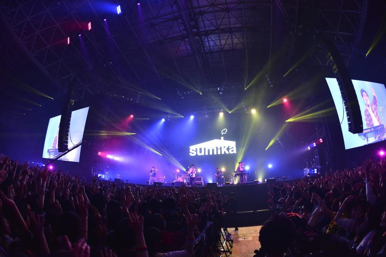 【迷迷現場】COUNTDOWN JAPAN 18/19 sumika 站上主舞台EARTH STAGE夢想成真