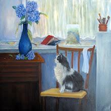 Photo: The Studio Cat by Loretta Luglio