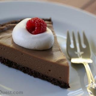 Low-Fat Chocolate Cookie Pie Crust (Gluten Free, Vegan).