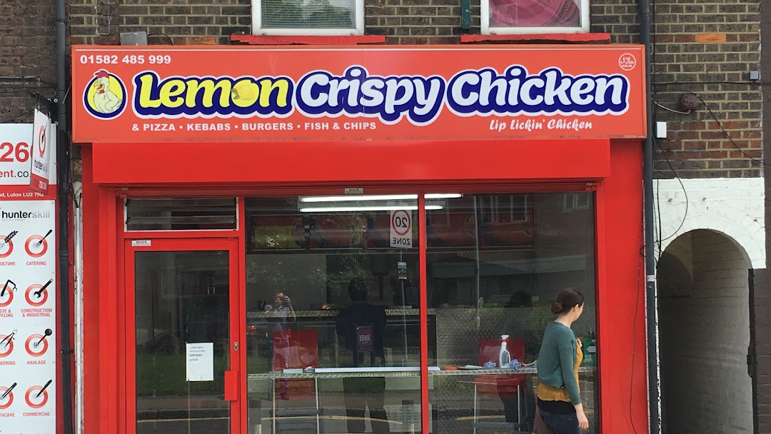Lemon Crispy Chicken And Pizza Fast Food Restaurant