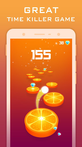 Splashy Tiles: Bouncing To The Fruit Tiles  captures d'écran 2