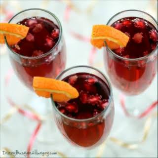 Pomegranate Orange Spritzer.