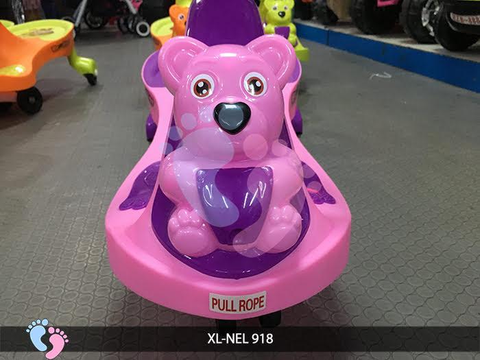 xe lắc trẻ em cho bé 1 đến 3 tuổi siêu nhẹ