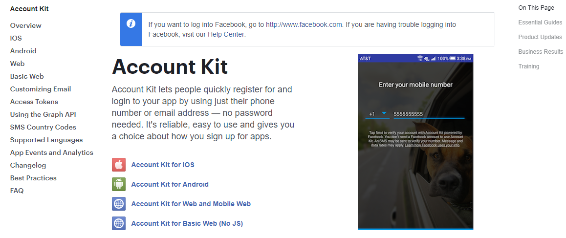 Two Factor Authentication (2fa) in Angular 6 using Facebook Account