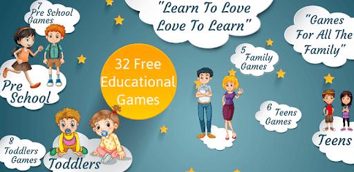 Tải Kids Educational Games Preschool and Kindergarten cho
