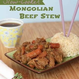 Slow-Cooker Mongolian Beef Stew.