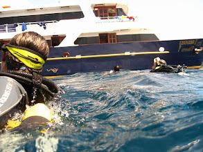 Photo: #018-Retour de plongée vers le Mermaid 1 (photo de Gérard)