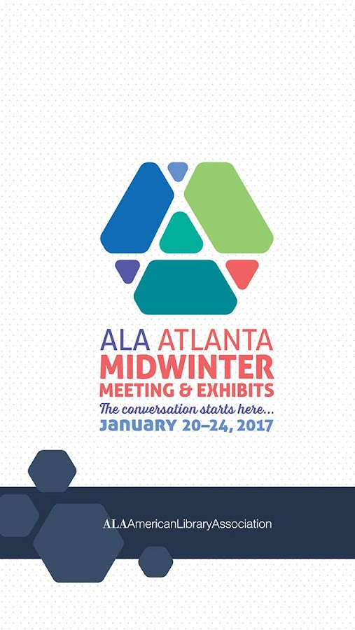 2017 ALA Midwinter Meeting- screenshot
