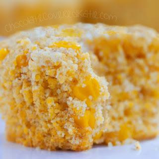 Big Fat Fluffy Healthy Corn Muffins.
