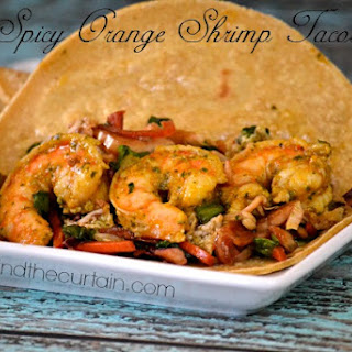 Spicy Orange Shrimp Tacos