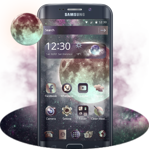 Moonlight Theme / Huawei, Samsung, LG, HTC, Sony icon