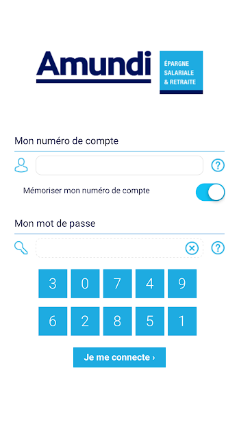Mon Epargne Android App Screenshot