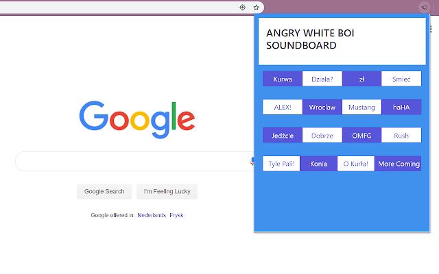 ANGRY WHITE BOI SOUNDBOARD