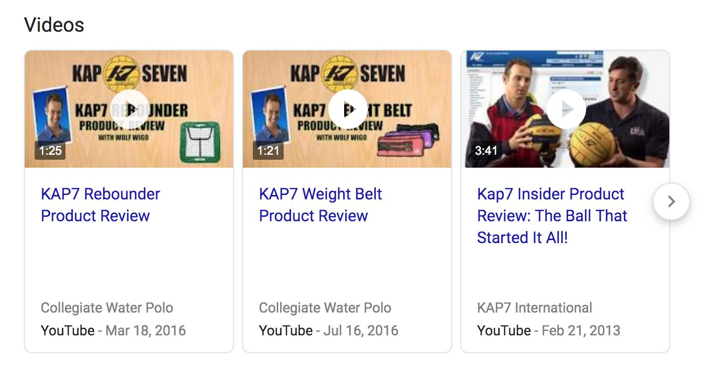 KAP7 video content strategy