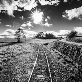 by Laky Kucej - Black & White Landscapes