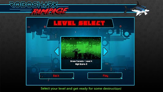 Robo Shark Rampage v1.0 (Mod)