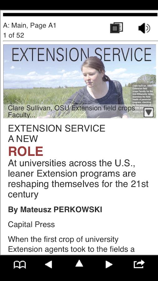 Capital Press e-Edition- screenshot