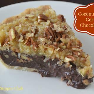 Coconut-Pecan German Chocolate Pie.