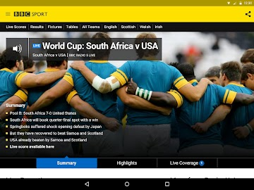 BBC Sport Screenshot 11
