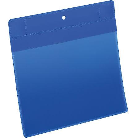 Plastficka Plus A5L magnet blå