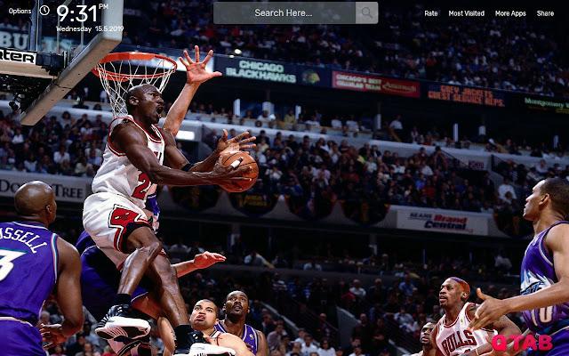 Michael Jordan Wallpapers HD Theme