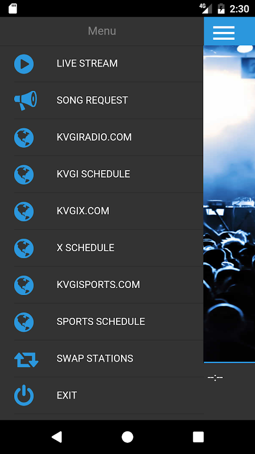 KVGI Radio- screenshot