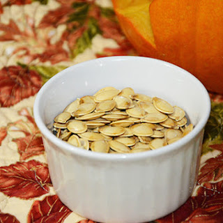Tasty Roasted Pumpkin Seeds.