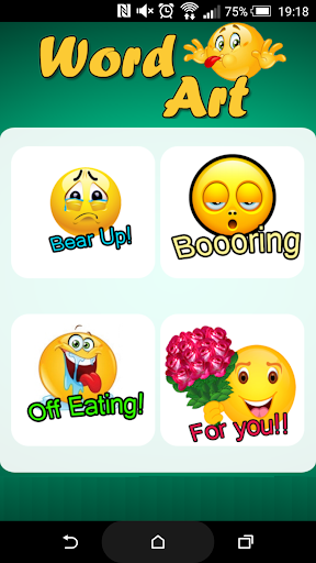 WordArt and Emojis for LINE