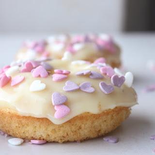 Easy Dipped Vanilla Cake Donuts