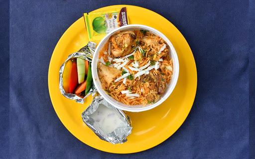 Chicken Biryani Combo image