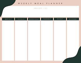 Simple Meal Planner - Planner item