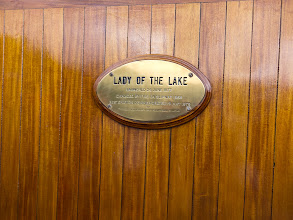 Photo: The name of the ferry
