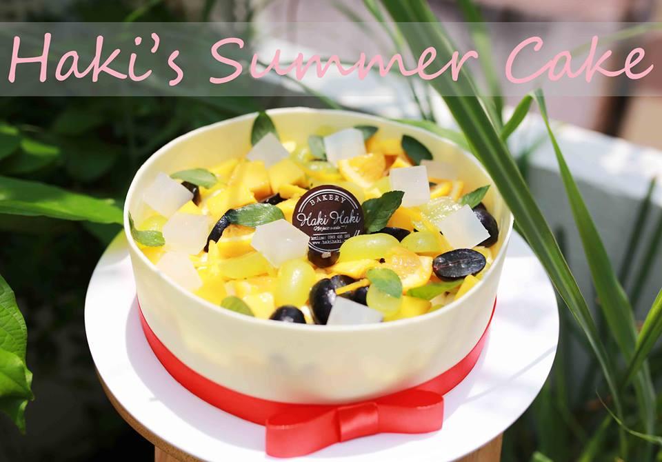 Bánh Summer cake tươi mát cho ngày hè